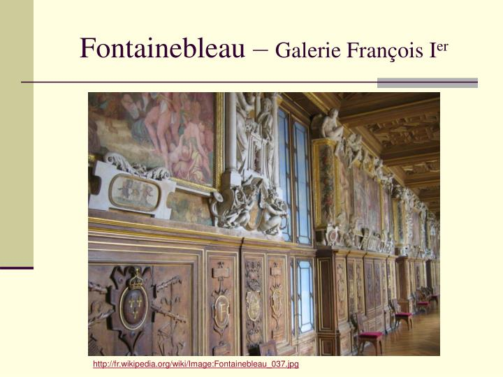 Fontainebleau –