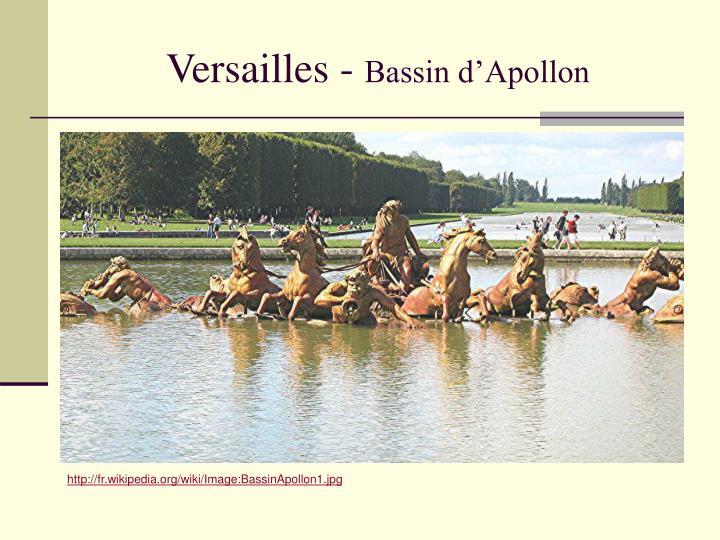 Versailles -
