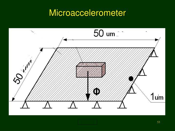 Microaccelerometer