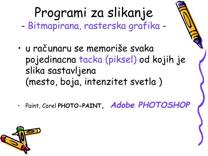 Programi za slikanje