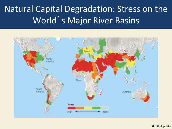 Natural Capital Degradation: Stress on the World