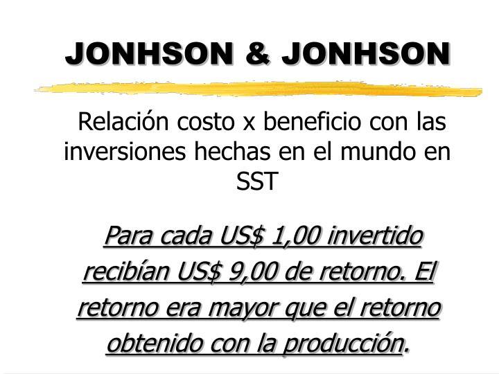 JONHSON & JONHSON