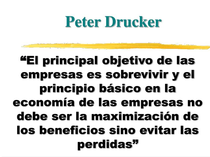 Peter Drucker