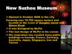 new suzhou museum