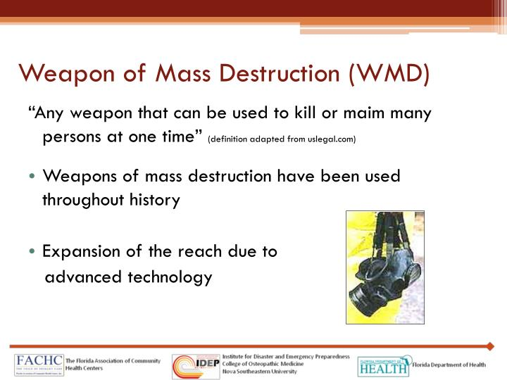 weapons of mass destruction agreements are Marines and sailors with us marine corps forces, special operations command conducted a countering weapons of mass destruction course for service members to learn to combat, adapt to and overcome chemical and biological contaminations, at.