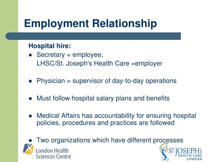Employment Relationship