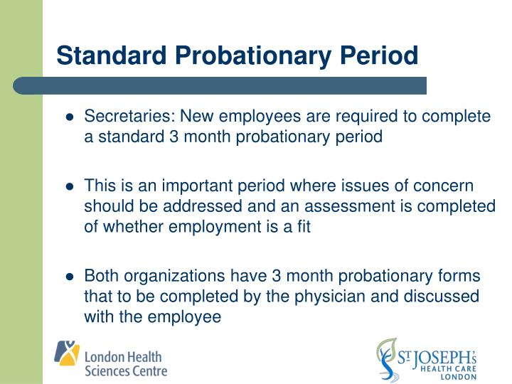 Standard Probationary Period