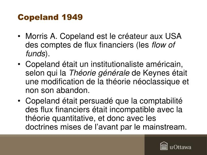 Copeland 1949