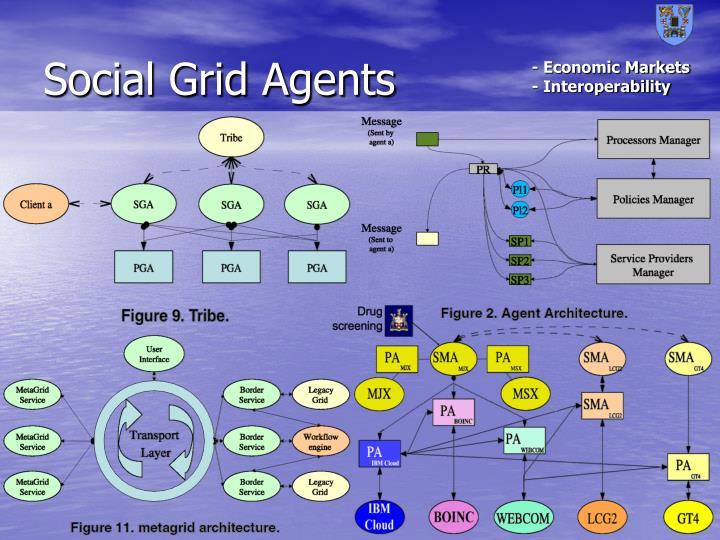 Social Grid Agents