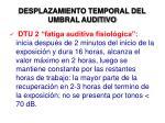 desplazamiento temporal del umbral auditivo2