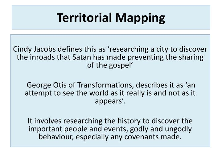 Territorial Mapping