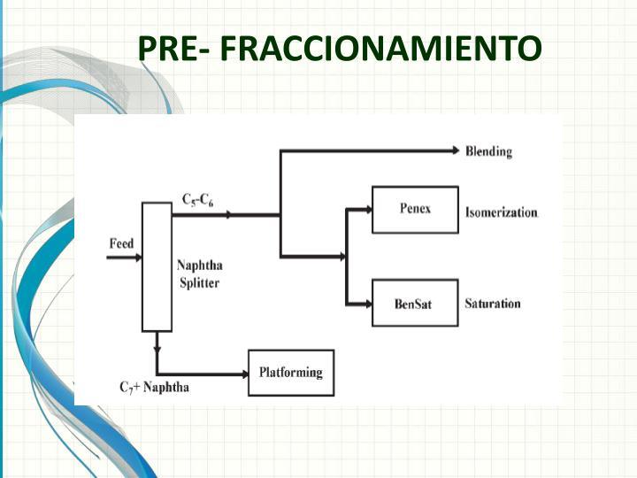 PRE- FRACCIONAMIENTO