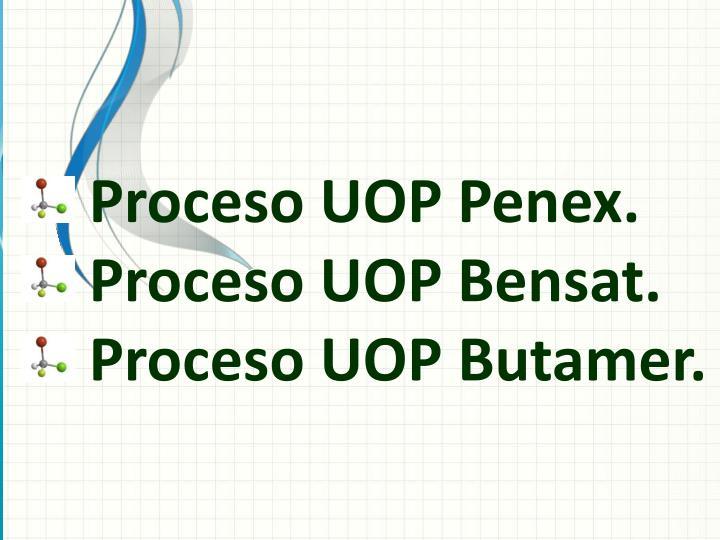 Proceso UOP Penex.