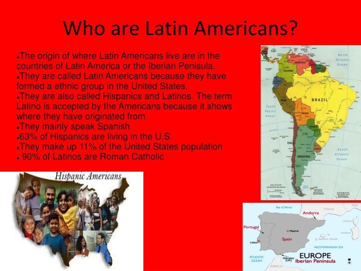latin america culture essay An essay on the deep need to mobilize and connect afro-descendants of latin america of all nations.