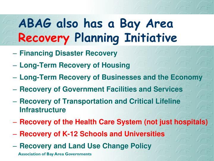 ABAG also has a Bay Area