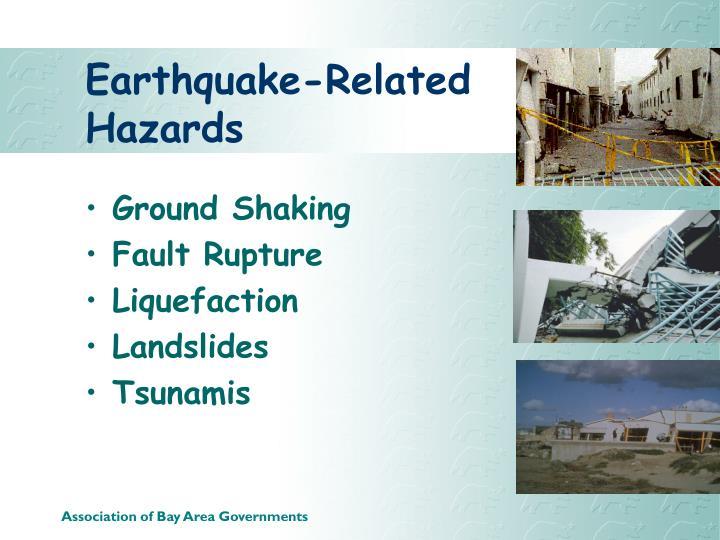 Earthquake-Related Hazards