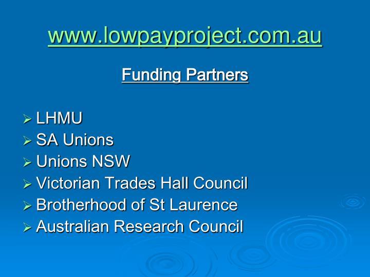 www.lowpayproject.com.au