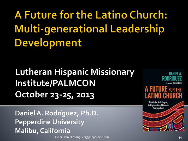 Lutheran Hispanic Missionary Institute/PALMCON