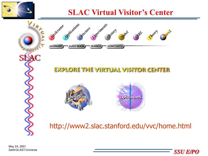 SLAC Virtual Visitor's Center