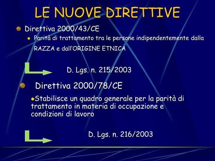 Direttiva 2000/43/CE