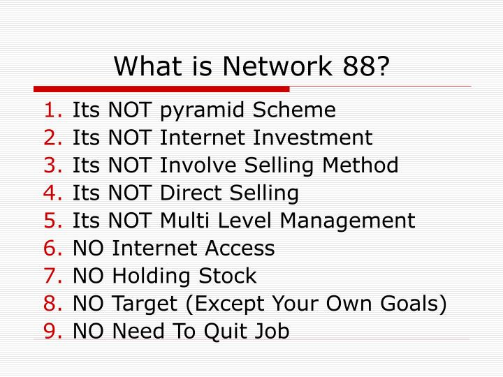 What is network 88