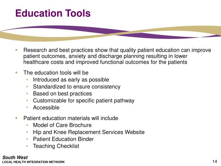 Education Tools