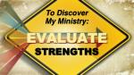 evaluate strengths