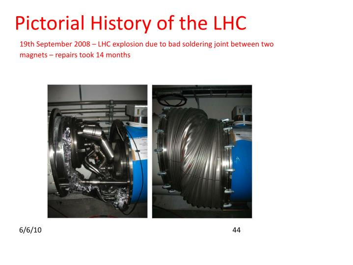 Pictorial History of the LHC