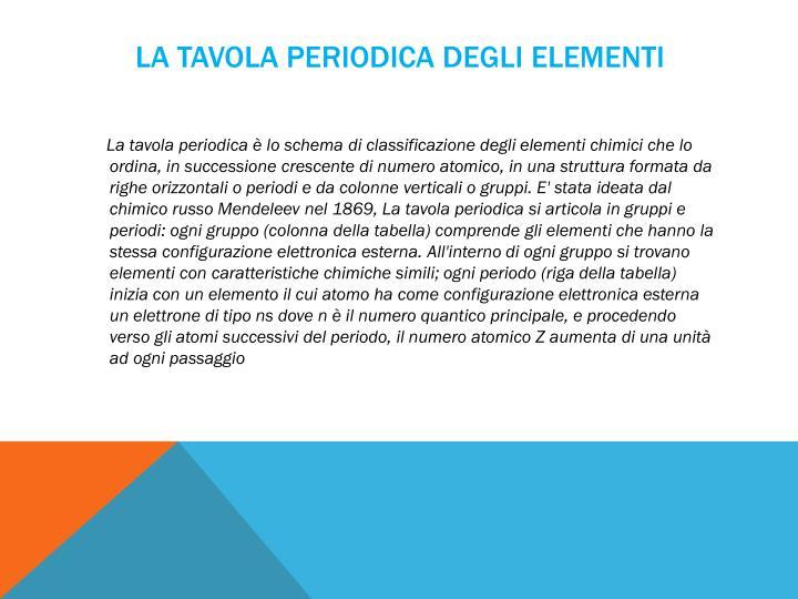 Ppt esperimenti di chimica powerpoint presentation id 4697473 - Tavola periodica di mendeleev ...