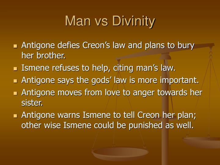 Man vs Divinity
