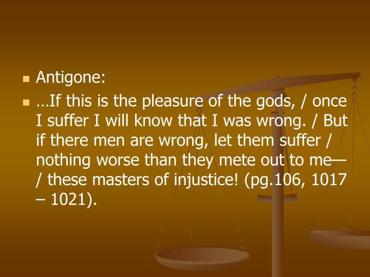 Antigone: