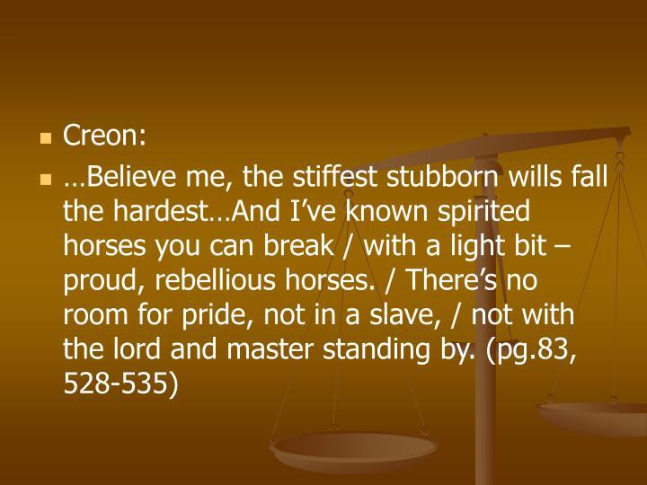 Creon: