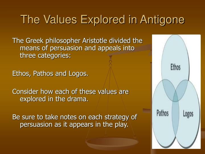 The Values Explored in Antigone