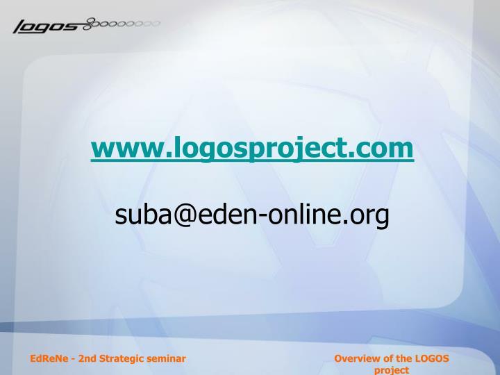 www.logosproject.com