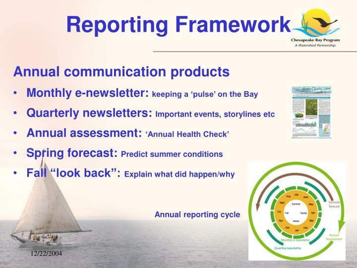 Reporting Framework