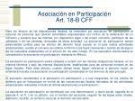 asociaci n en participaci n art 18 b cff