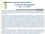factor de actualizaci n art 17 a cff1