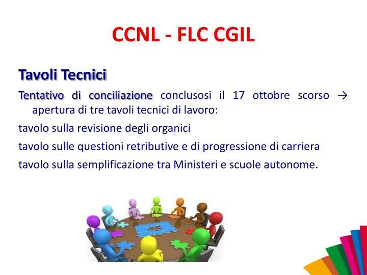 CCNL - FLC CGIL