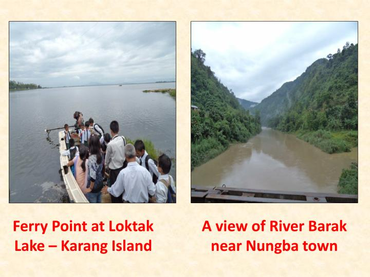 Ferry Point at Loktak Lake – Karang Island