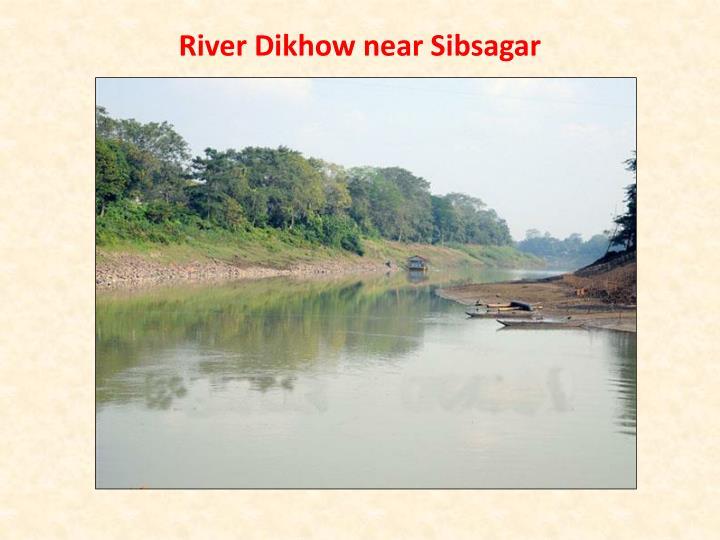 River Dikhow near Sibsagar
