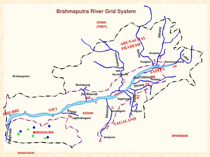 Brahmaputra River Grid System