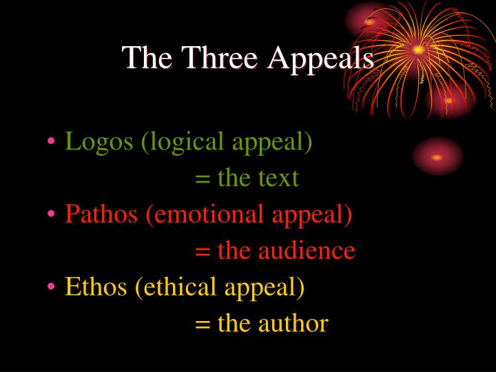 The Three Appeals