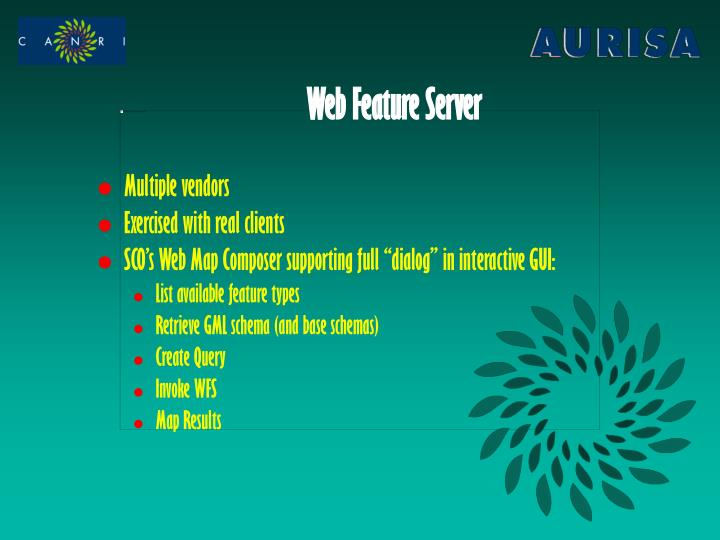 Web Feature Server