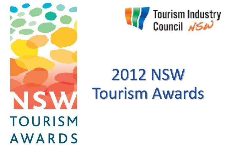 2012 NSW Tourism Awards