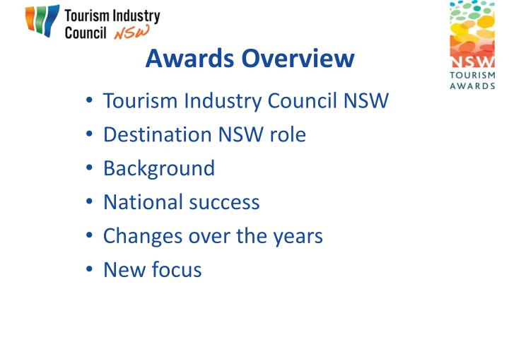 Awards Overview