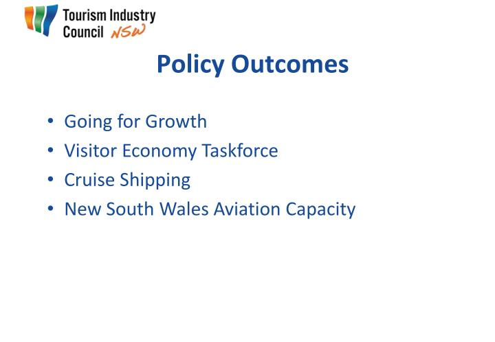 Policy Outcomes
