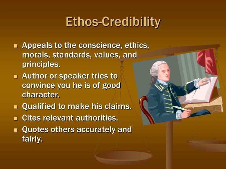 Ethos-Credibility