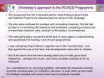 knowsley s approach to the roads programme