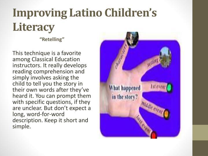 Improving Latino Children's Literacy