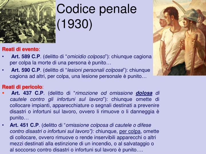 Codice penale (1930)